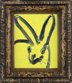 Whillie (Bunny on Green Background)