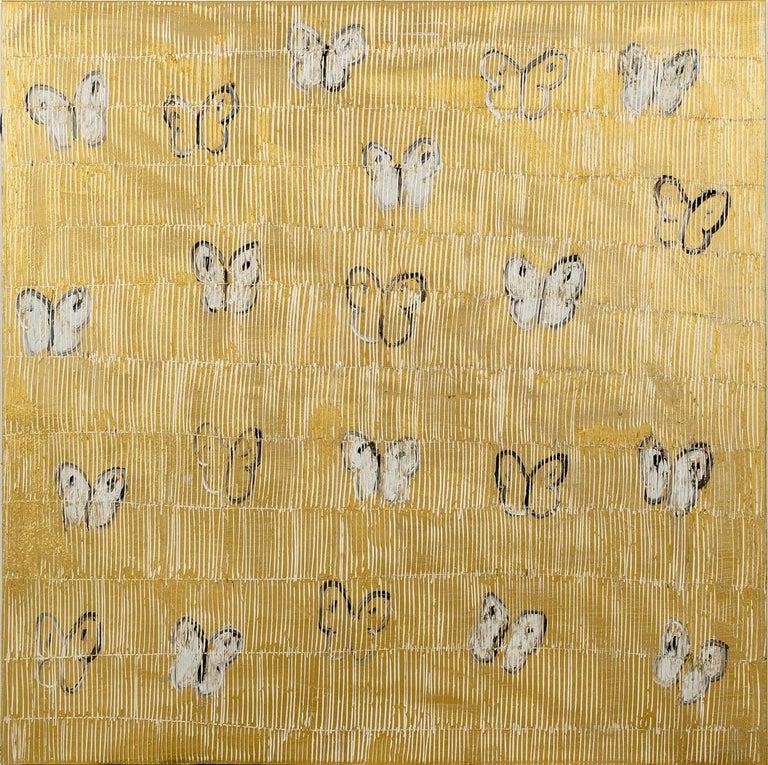 Hunt Slonem Animal Painting - White Ascension