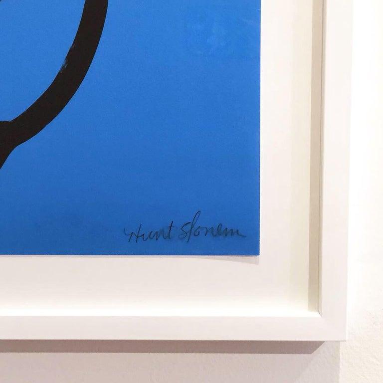 Blue Bunny - Print by Hunt Slonem