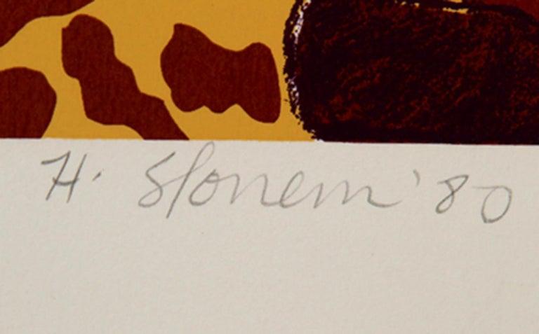 Shell Ginger, Pop Art Serigraph by Hunt Slonem For Sale 1