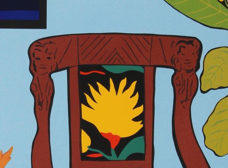 Shell Ginger, Pop Art Serigraph by Hunt Slonem For Sale 2