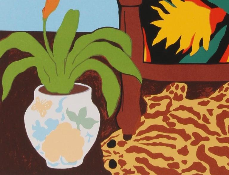 Shell Ginger, Pop Art Serigraph by Hunt Slonem For Sale 3