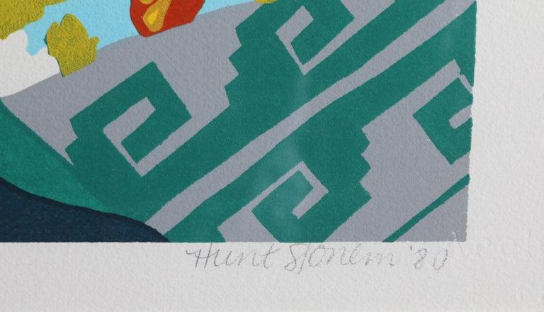 Spell III, Pop Art Serigraph by Hunt Slonem  For Sale 1