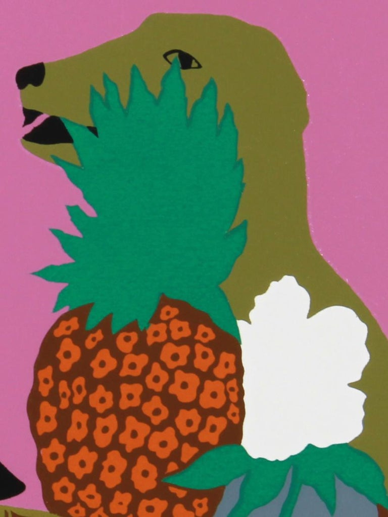 Tortoise, Pop Art Serigraph by Hunt Slonem For Sale 1
