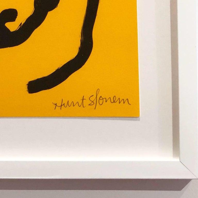 Yellow Bunnies - Print by Hunt Slonem