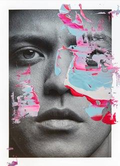 Kaaling Mars, 2017, Acrylic On Glicée Print