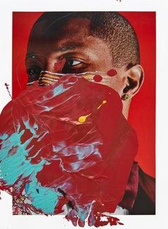 Kaaling Pharrell, 2017, Acrylic On Glicée Print