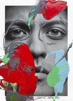 Mars, 2017, Acrylic On Gliceée Print