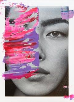 Weifang Sun, 2017, Acrylic On Acetate Print