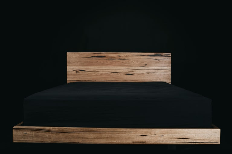 You will look and feel as though you're floating in your sleep in the Hunter. A solid construction with legs set at the exact measurements to give the appearance the bed is levitating. With an ultra-sleek design and solid bedhead, it has been