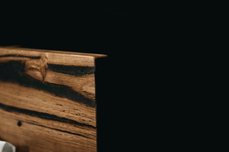 Australian Hunter Bed, Hancrafted in Tasmanian Messmate Hardwood For Sale