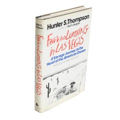 Hunter S. Thompson's Fear and Loathing in Las Vegas, First Edition 1971