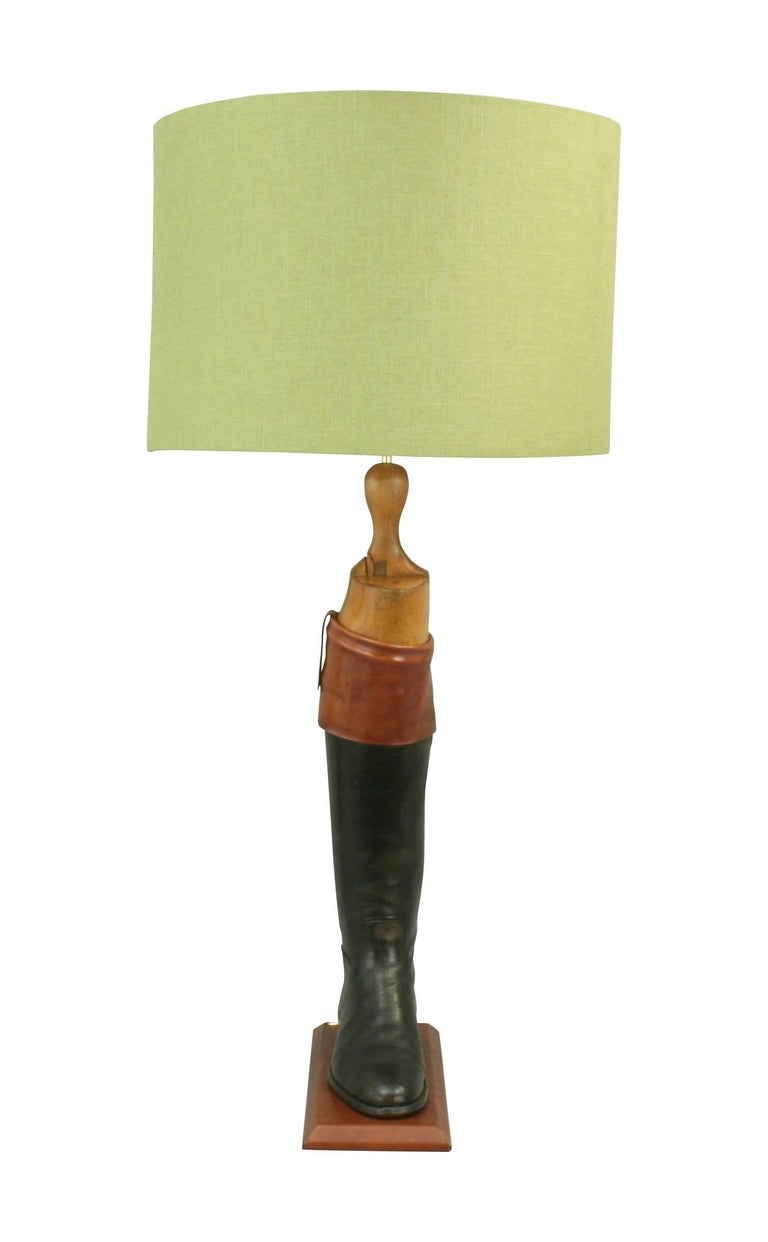 Hunting Boot Lamps In Excellent Condition For Sale In Oxfordshire, GB