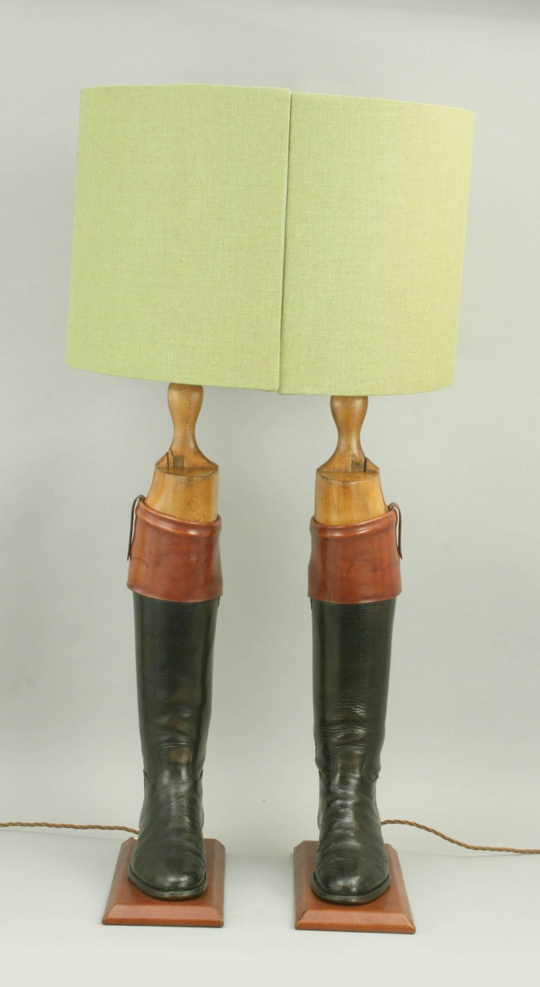 Beech Hunting Boot Lamps For Sale