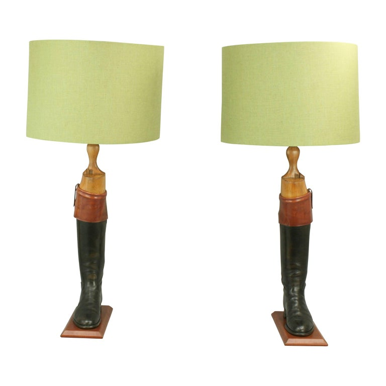 Hunting Boot Lamps For Sale