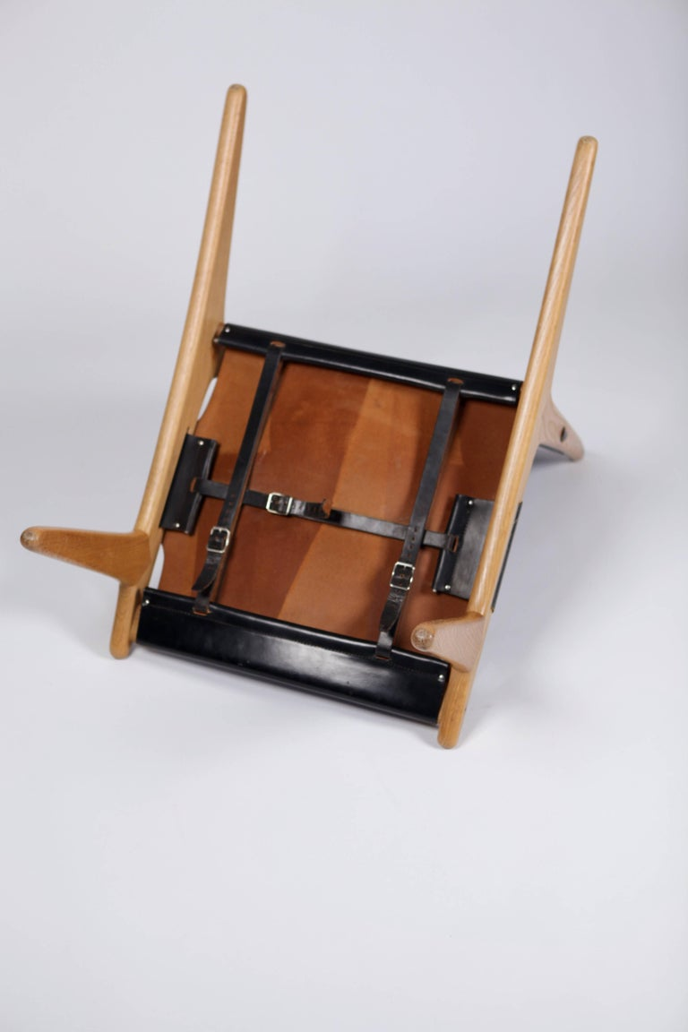 Hunting Chair by Uno & Östen Kristiansson for Luxus, Sweden, 1954 For Sale 2