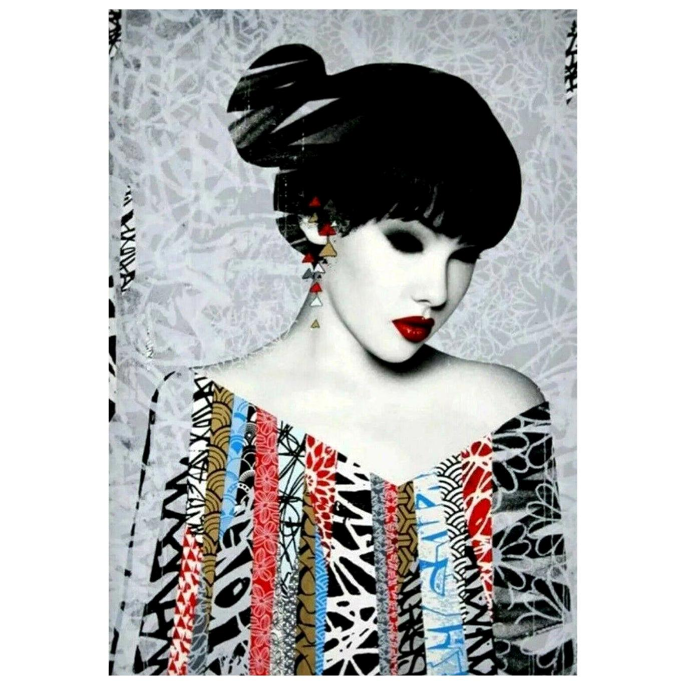 HUSH, Poise, Limited Edition Screen Print