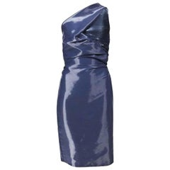 Hussein Chalayan Vintage One Shoulder Dress