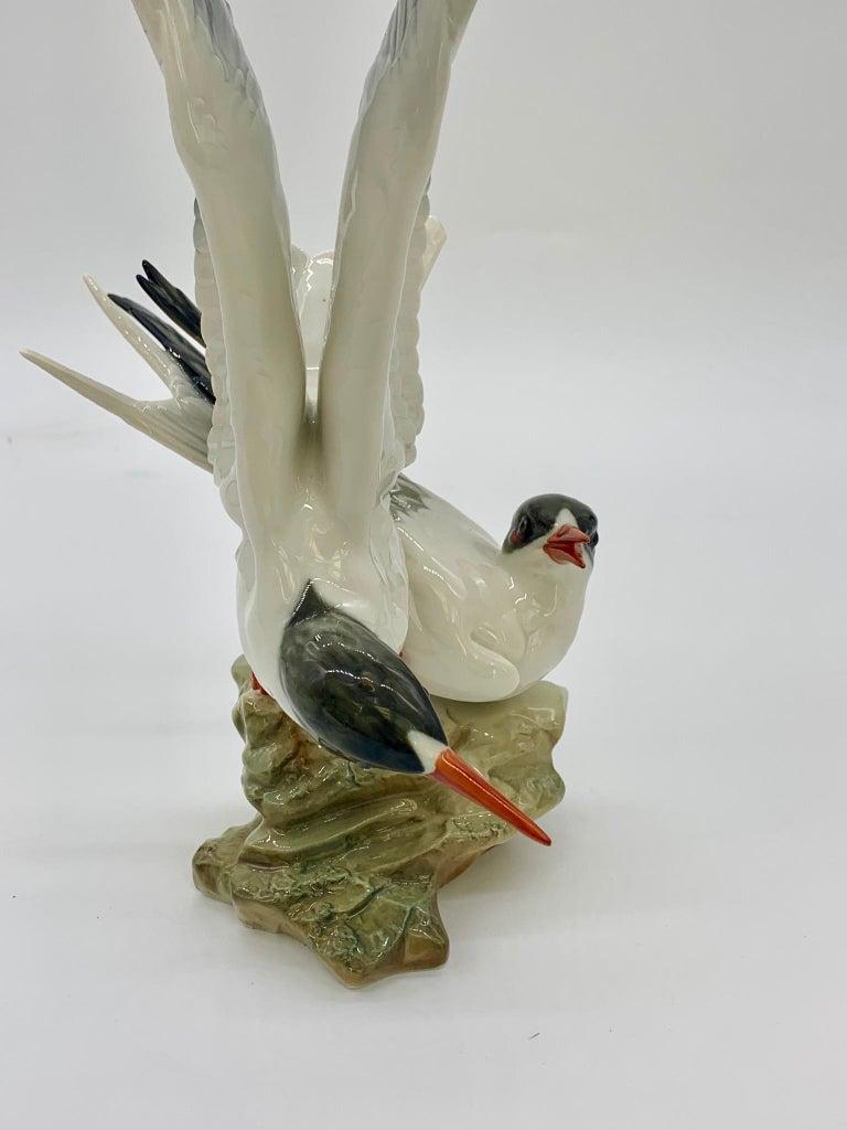 Hutschenreuther Porcelain Birds, 19th Century For Sale 2
