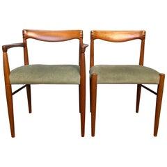 H.W Klein Dining Chair Set of 6, Brahmin, Denmark, 1960