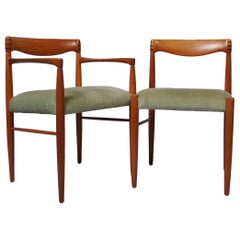 H.W Klein Dining Chair Set of 6, Brahmin, Denmark, 1960