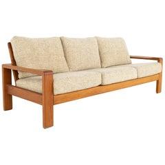 HW Klein for Bramin Mobler Mid-Century Modern Solid Teak Sofa