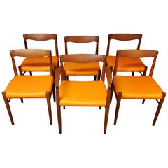 HW Klein for Bramin Set of 6 Dining Room Chairs