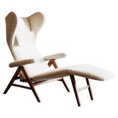 H.W. Klein Reclining Chaise, Denmark, 1960s
