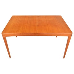 H.W. Klein Teak and Rosewood Danish Modern Midcentury Dining Table for Bramin