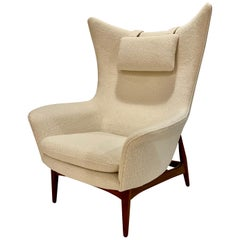 H.W. Klein Wing Chair for Bramin Mobler