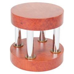 Hyatt Metal and Wood Table, by Ettore Sottsass from Memphis Milano