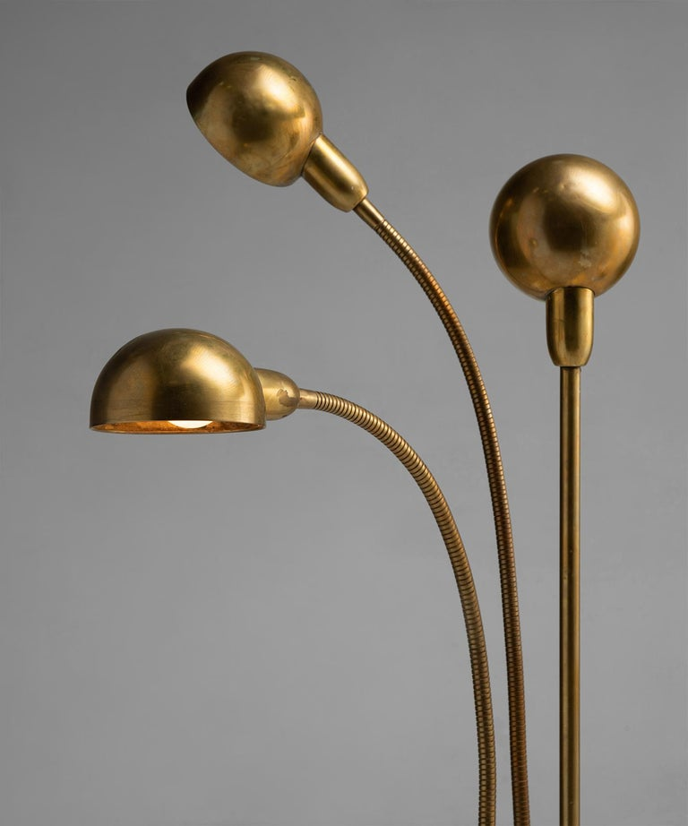 Hydra Lamp by Pierre Folie, France circa 1970 In Good Condition In Culver City, CA