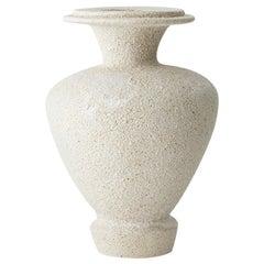 Hydria Hueso Stoneware Vase by Raquel Vidal and Pedro Paz