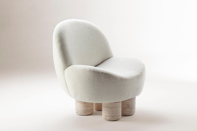 Modern Hygge Armchair by Collector For Sale