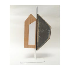 """""""Modus Volito Rusticus 35"""", Abstract, Found Object, Free-Standing Sculpture"""