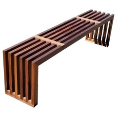 Hypnotism Solid Hardwood Slatted Bench by Izm Design