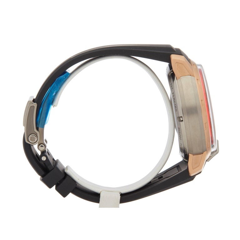 Men's HYT H1 Rose Gold and Titanium 148-TG-02-RF-RU For Sale