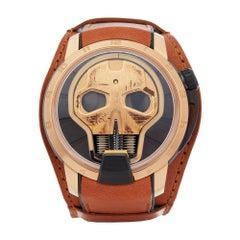 HYT H1 Skull 18 Karat Rose Gold S48-DG-57-NF-LM