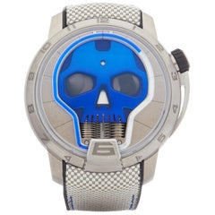 HYT Skull  S48-TT-33-BF-RA Men's Titanium Watch
