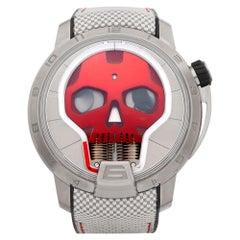 HYT Skull Titanium S48-TT-34-RF-RA
