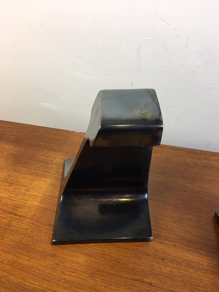 American I Beam Metal Bookends For Sale