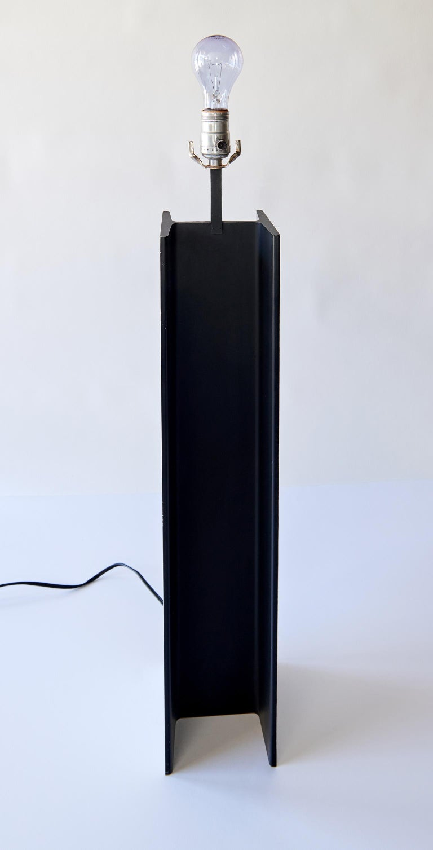 Modern I-Beam Table Lamp by Laurel