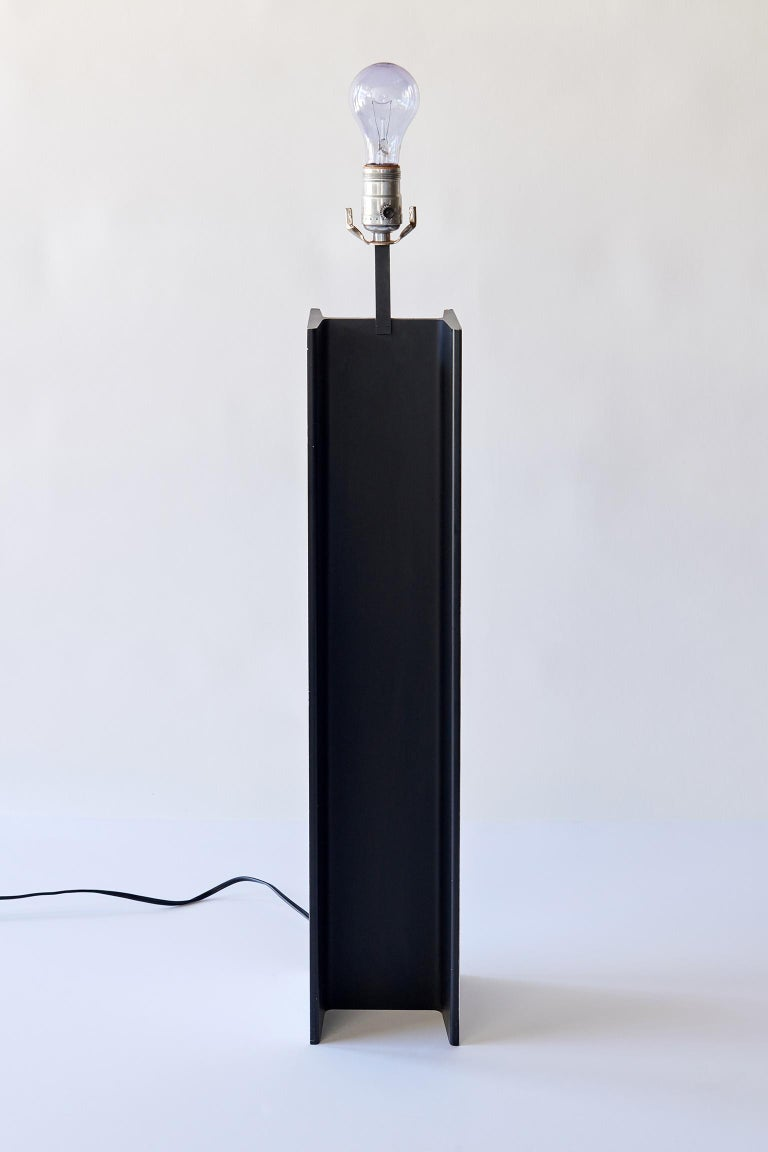I-Beam Table Lamp by Laurel In Excellent Condition In Los Angeles, CA