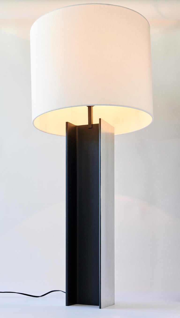 Mid-20th Century I-Beam Table Lamp by Laurel