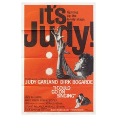 I Could Go on Singing 1963 U.S. One Sheet Film Poster
