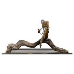 I Dance Alone Bronze Sculpture