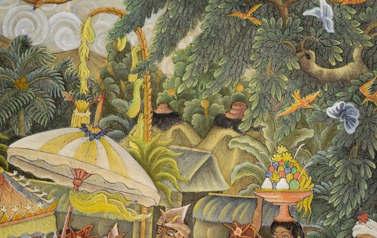 Procession Through the Jungle Village  For Sale 1