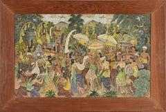 Procession Through the Jungle Village