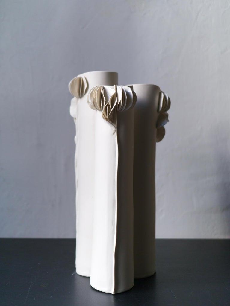 Italian I Giunchi Vase by Biancodichina For Sale