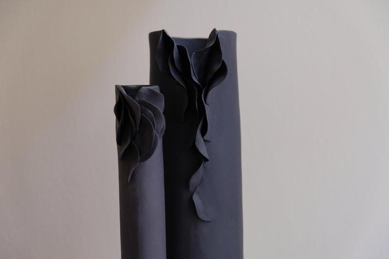 Contemporary I Giunchi Vase by Biancodichina For Sale
